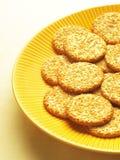 Biscoitos do sésamo Fotos de Stock