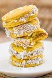 Biscoitos doces fotos de stock