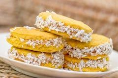 Biscoitos doces imagens de stock royalty free