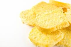 Biscoitos doces amarelos Foto de Stock Royalty Free