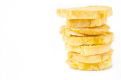 Biscoitos doces amarelos Fotos de Stock