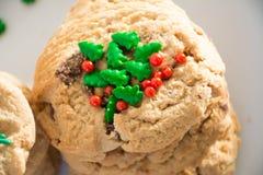 Biscoitos doces do Natal fotografia de stock royalty free