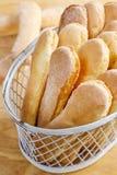 Biscoitos dos Ladyfingers imagem de stock royalty free