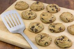 Biscoitos dos pedaços de chocolate Foto de Stock