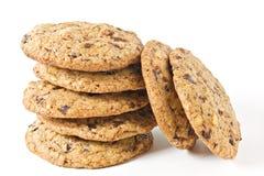 Biscoitos dos pedaços de chocolate Imagem de Stock Royalty Free