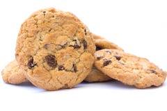 Biscoitos dos pedaços de chocolate Fotografia de Stock Royalty Free
