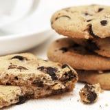 Biscoitos dos pedaços de chocolate Fotos de Stock Royalty Free