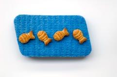 Biscoitos dos peixes Foto de Stock Royalty Free