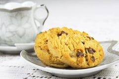 Biscoitos e café Imagem de Stock