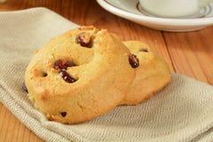 Biscoitos e café Fotografia de Stock