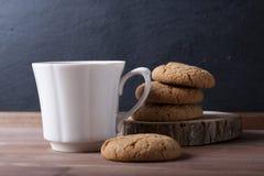 Biscoitos e café Imagens de Stock Royalty Free