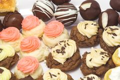 Biscoitos e doces 2 fotografia de stock