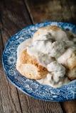 Biscoitos e molho Imagem de Stock
