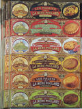 Biscoitos franceses fotografia de stock royalty free