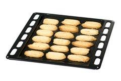 Biscoitos frescos do shortbread da manteiga fotografia de stock royalty free