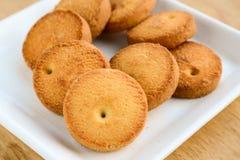Biscoitos de Osmania fotos de stock royalty free