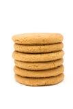 Biscoitos instantâneos do gengibre Imagens de Stock Royalty Free