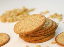 Biscoitos inteiros da grão Fotos de Stock