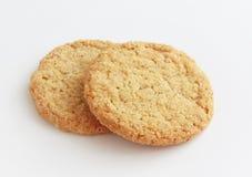 Biscoitos inteiros da grão Fotografia de Stock