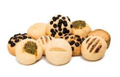 Biscoitos isolados imagem de stock
