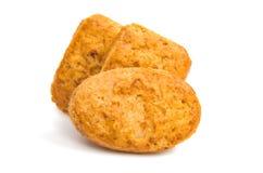 Biscoitos isolados Foto de Stock
