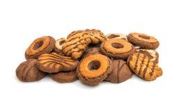 Biscoitos isolados Imagem de Stock Royalty Free