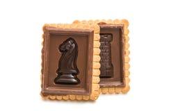 Biscoitos isolados Imagens de Stock