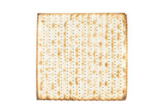 Biscoitos kosher caseiros do Matzo Fotografia de Stock