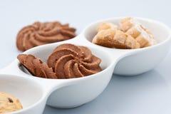 Biscoitos misturados Fotos de Stock Royalty Free