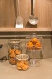 Biscoitos na cozinha foto de stock
