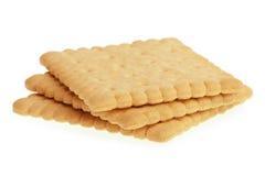 Biscoitos no branco Imagens de Stock Royalty Free
