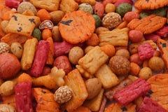Biscoitos ou bolos do arroz, Foto de Stock