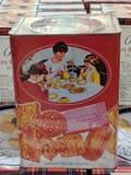 Biscoitos para a venda em um mercado fotografia de stock royalty free