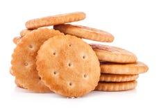 Biscoitos redondos imagem de stock