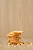 Biscoitos saborosos Foto de Stock