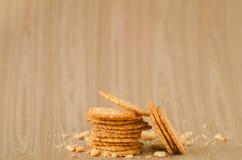 Biscoitos saborosos Imagens de Stock Royalty Free