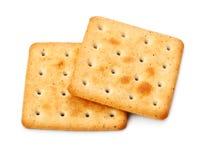 Biscoitos salgados Foto de Stock Royalty Free