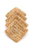 Biscoitos sobre o branco Imagens de Stock