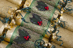Biscoitos tradicionais do Natal Fotografia de Stock
