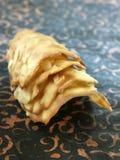 Biscoitos tuile da amêndoa Foto de Stock Royalty Free