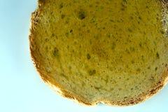 Biscottes avec de la confiture de fruit Images stock