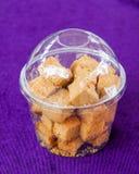 Biscottes crues cuites au four Photos libres de droits