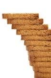 Biscottes de pain images libres de droits