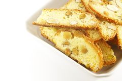 biscotti饼干 免版税库存图片