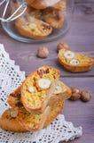 Biscotti тыквы с фундуками Стоковое фото RF