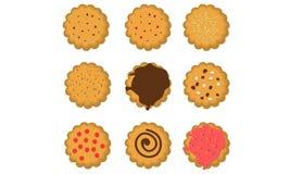 Biscotti illustrazione vettoriale