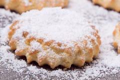 Biscotti al forno Fotografie Stock Libere da Diritti