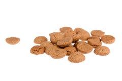 Biscotti allo zenzero, caramella olandese per l'evento di Sinterklaas a dicembre Fotografia Stock