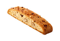 Biscotti Almond Biscuit isolated Stock Image