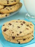 Biscotti & latte Fotografia Stock Libera da Diritti